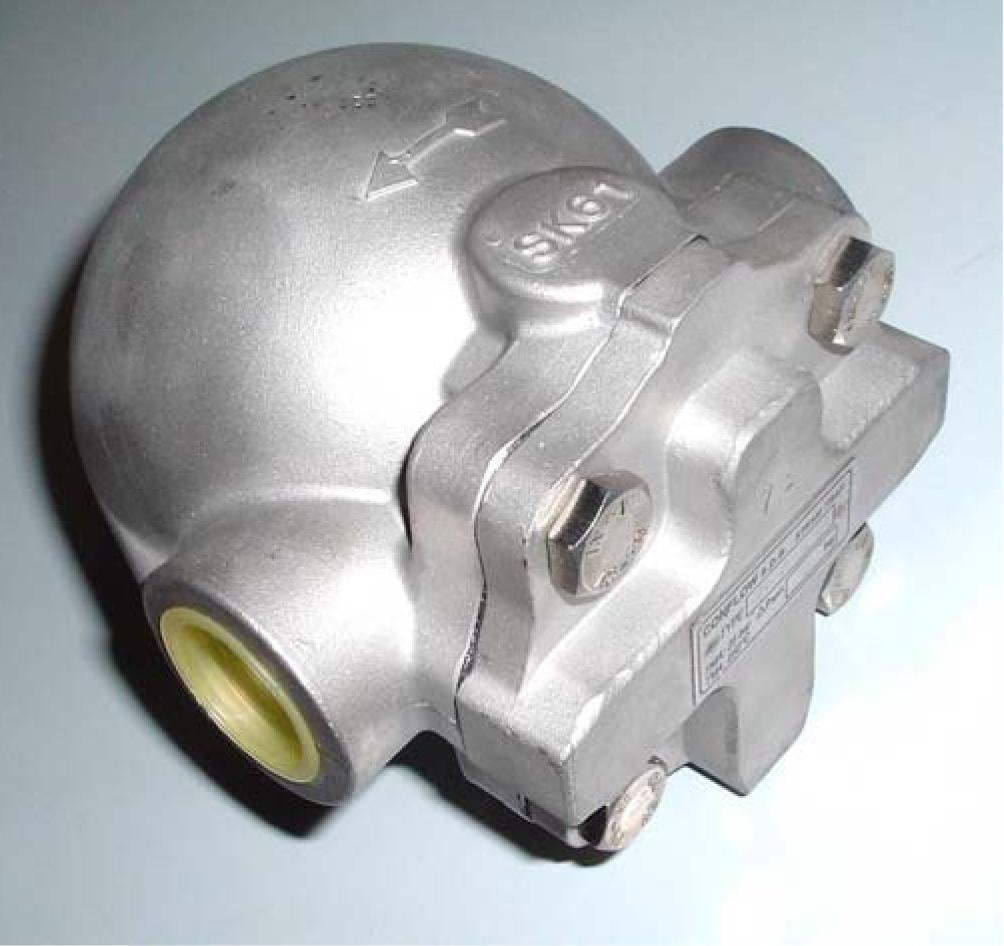 Поплавковые муфтовые конденсатоотводчики GTSX- поплавковые фланцевые конденсатоотводчики GTFX- корпус из нержавеющей стали AISI 316.