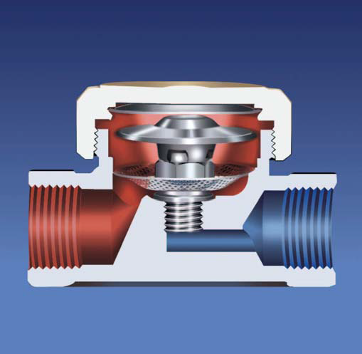 Термостатический латунный конденсатоотводчик STK 61