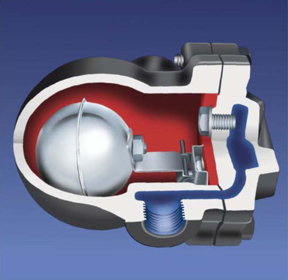 Поплавковый конденсатоотводчик SA 14 для систем сжатого воздуха и газа